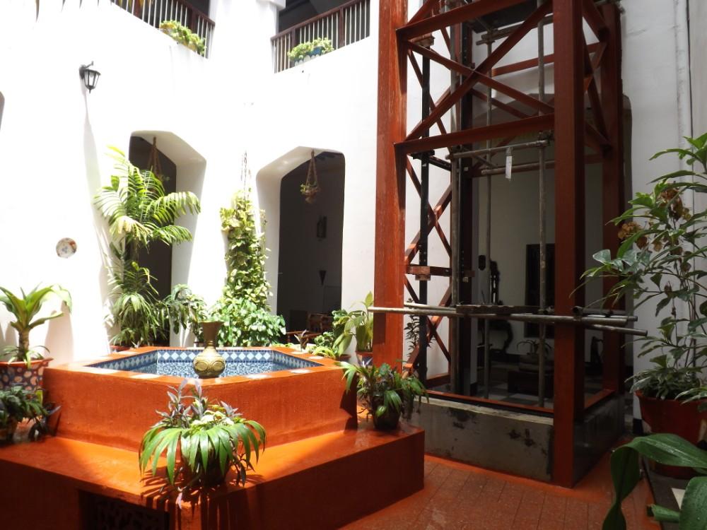 Hotel Beyt Al Salaam in Stone Town is een echte bezienswaardigheid.