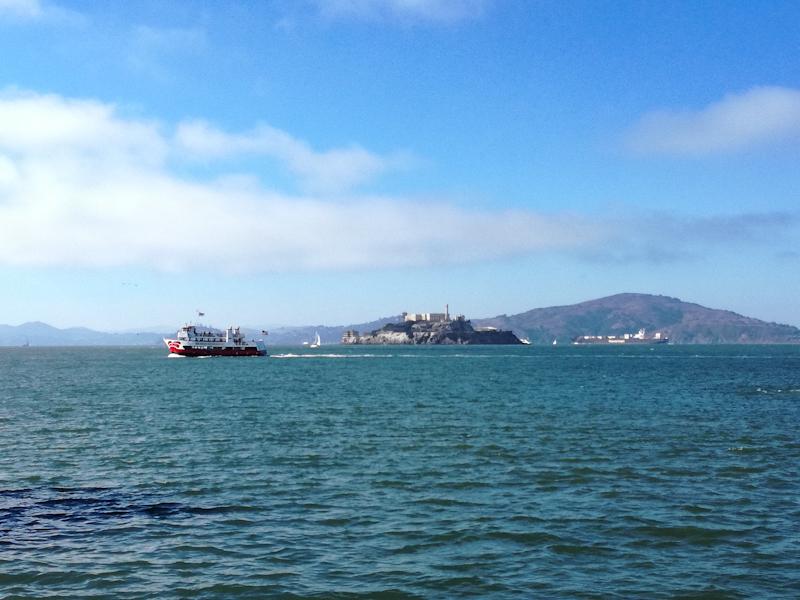 Alcatraz San Francisco in de Stille Oceaan