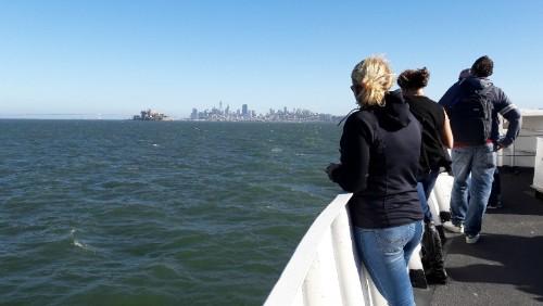 Annemarie op de ferry
