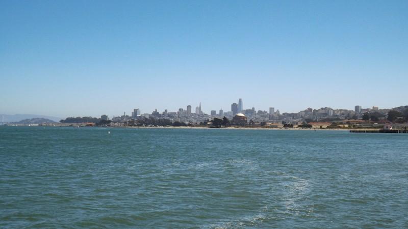 De skyline van San Francisco