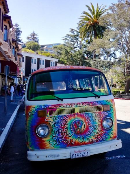 Hippiebus in Sausalito