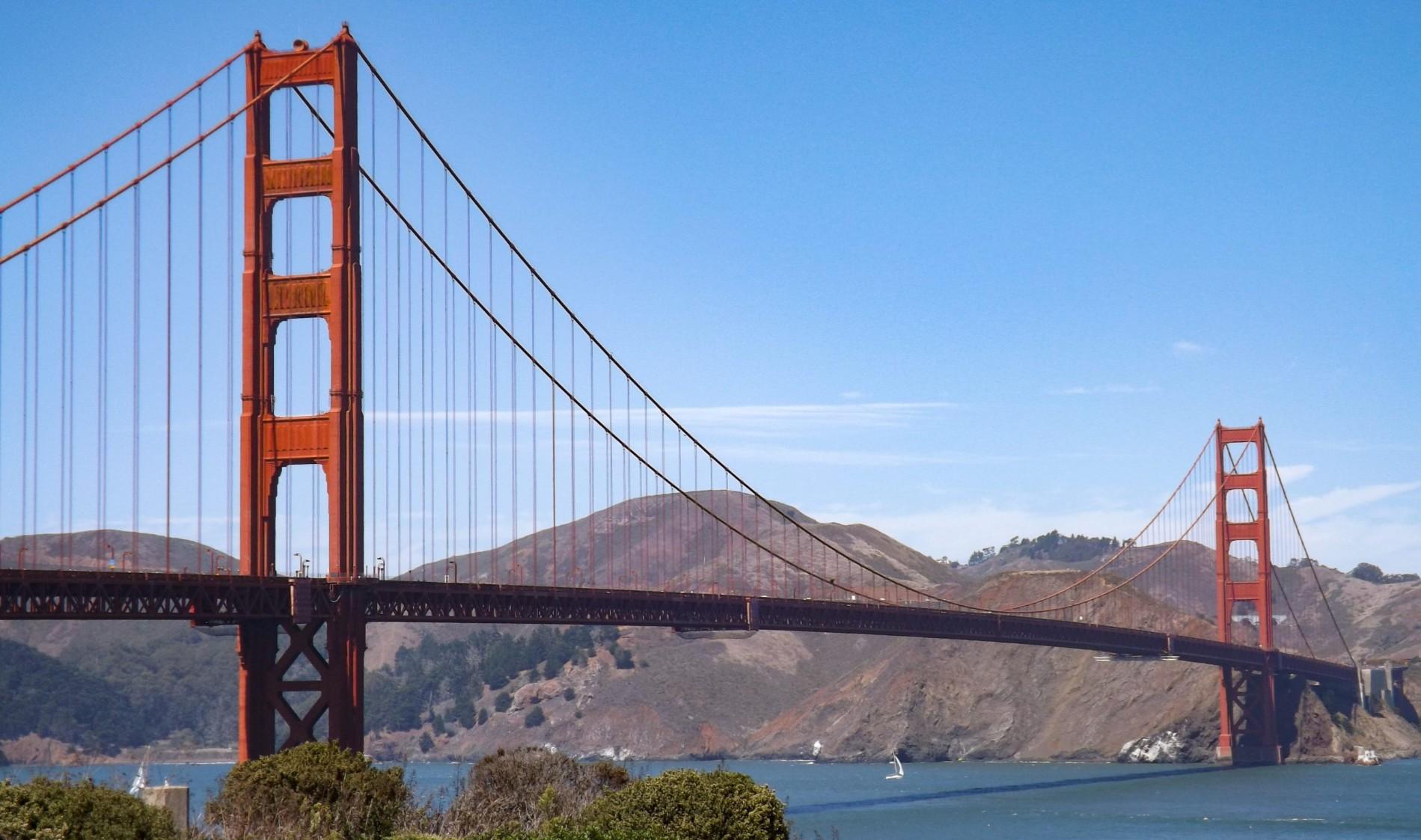 Fietsen over de Golden Gate Bridge is het leukste uitje in San Francisco