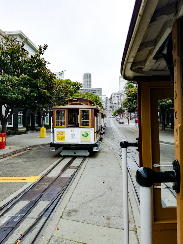 Cable Car in San Fransisco