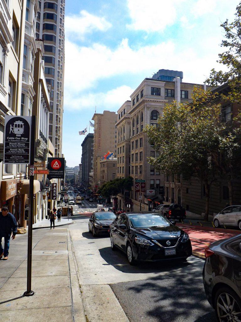 Hoogteverschil in San Francisco