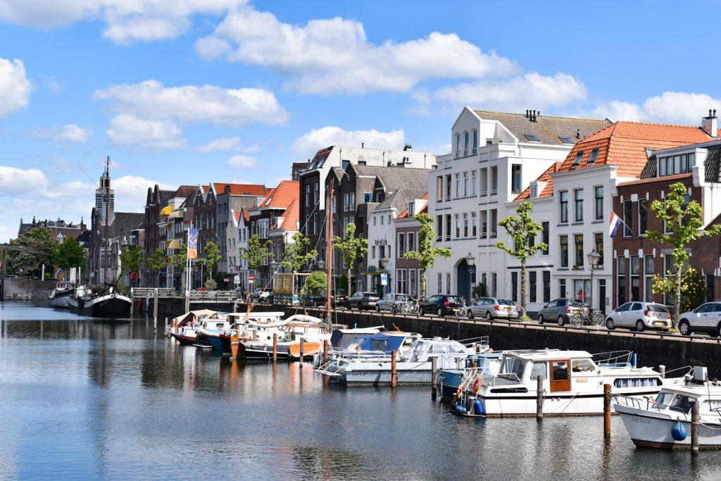 De historische Delfshaven