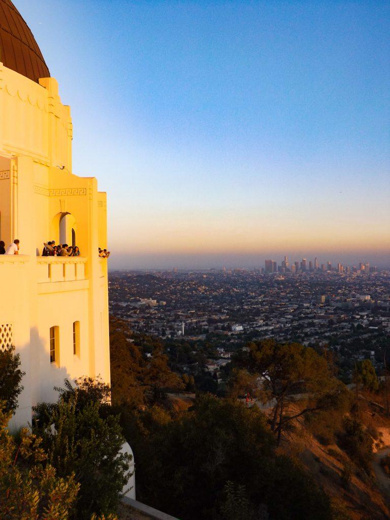 Uitzicht op Downtown LA