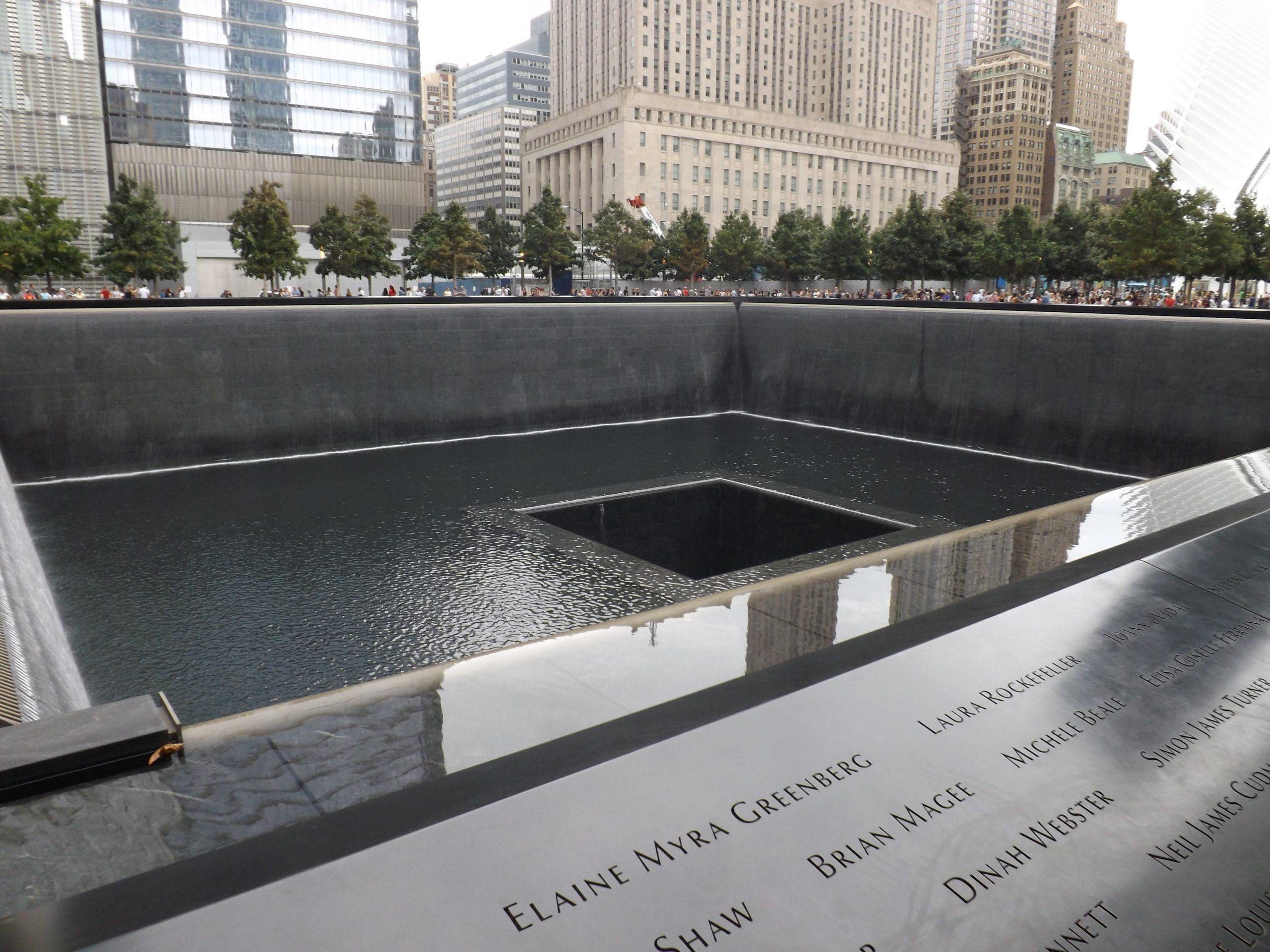 Het indrukwekkende 911 memorial