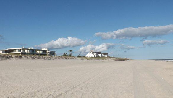 Het strand van Southampton. Onderdeel van The Hamptons