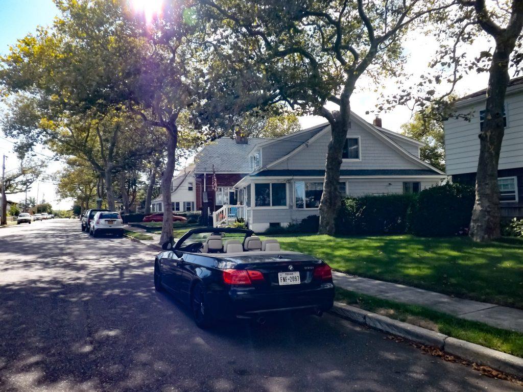 BMW in Amerikaanse wijk