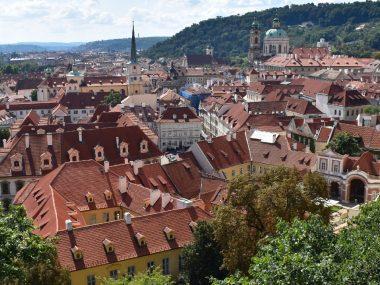 Uitzicht Praag, Tsjechië