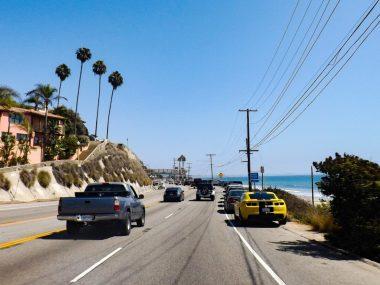 Highway 1 door Malibu California